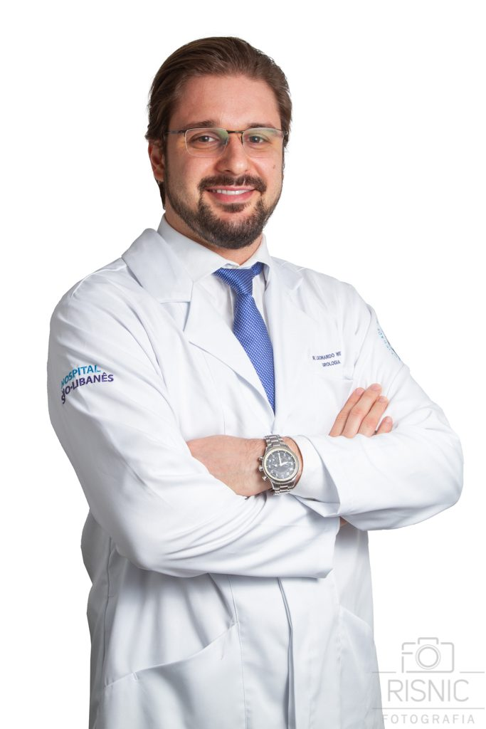 Retrato Corporativo do Dr Leonardo Welter, Médico Especialista em Urologia do Hospital Sírio Libanês