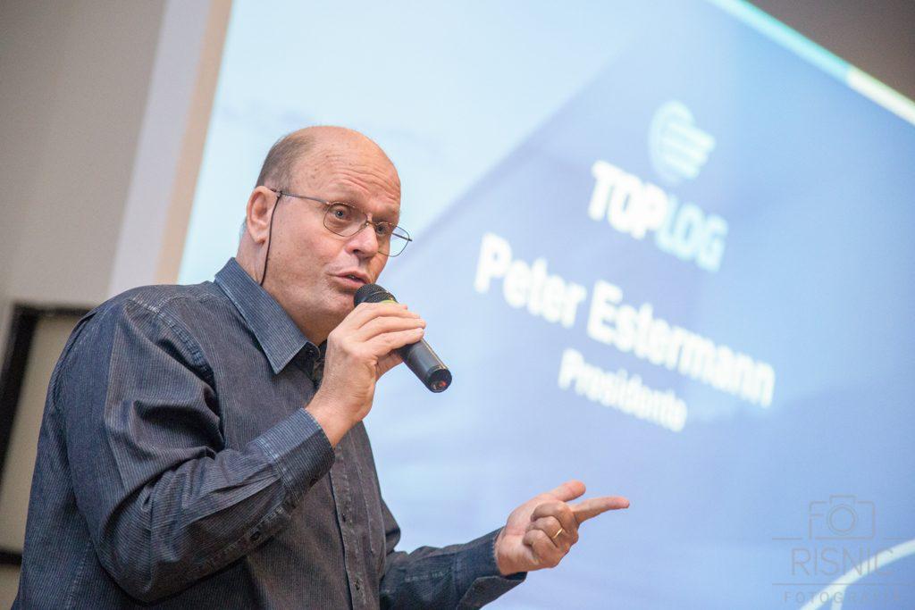 Peter Estermann, Diretor Presidente do Grupo Pão de Açúcar, no evento realizado pela empresa ACCERA para lançamento do TOPLOG