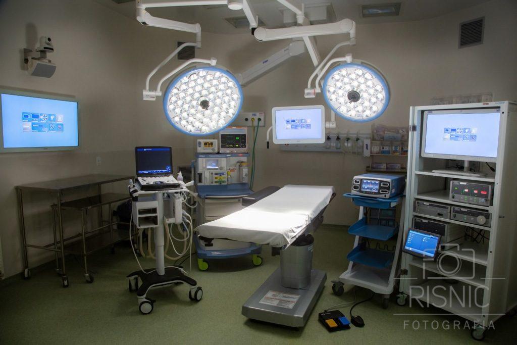 Fotografia da Sala de Cirurgia do Hospital São Camilo, Unidade Pompéia