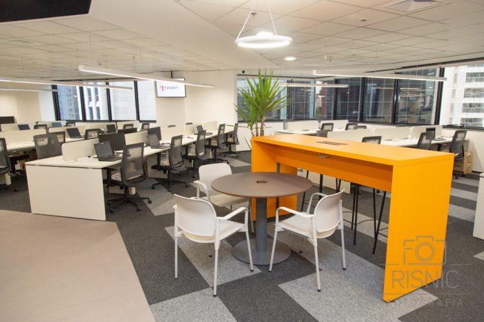 Empresa Pare Bem inaugura novo escritório em São Paulo, no bairro Vila Olímpia. Foto do ambiente do escritório