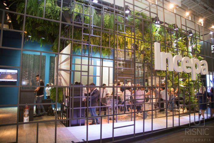 Fotografia Corporativa, cobertura fotográfica da abertura da Feira Expo Revestir, realizada no Transamérica Expo