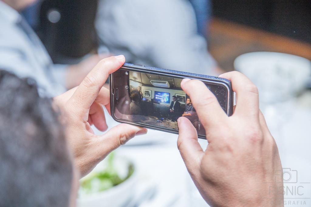 Detalhe do Evento Uol Diveo realizado no Restaurante Le Bife