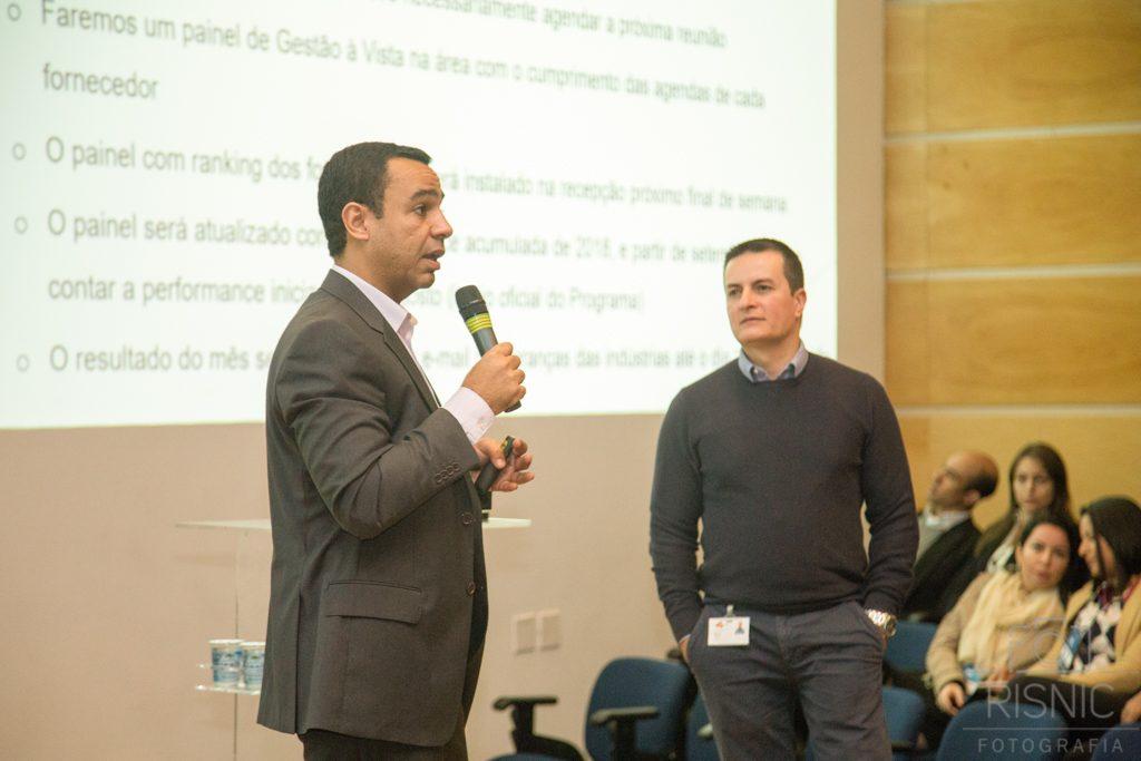 Diretores Executivos do Grupo Pão de Açúcar, no evento realizado pela empresa ACCERA para lançamento do programa TOPLOG