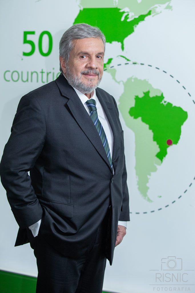 Retrato corporativo do diretor da Rödl & Partner em São Paulo