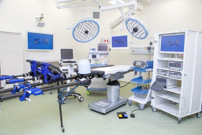Fotografia da Sala de Cirurgia do Hospital São Camilo, Unidade Pompéia, com o que tem de mais moderno em equipamentos cirúrgicos