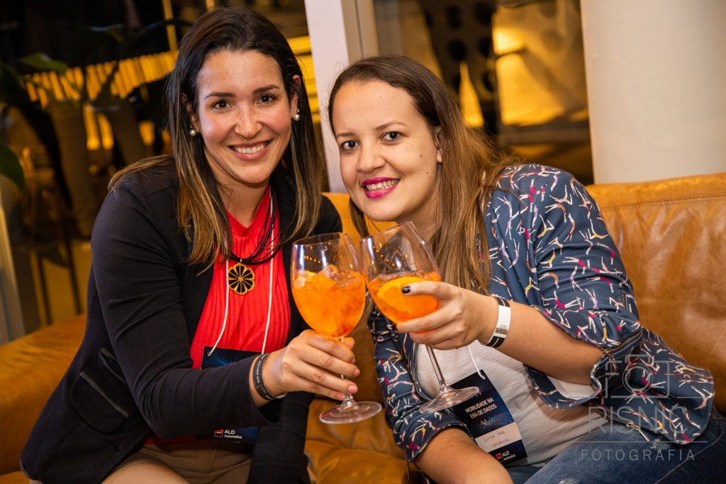 Clientes no Evento Corporativo da ALD Automotive realizado no Bar Obelisco