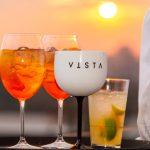 Drinks do Restaurante Vista e Bar Obelisco