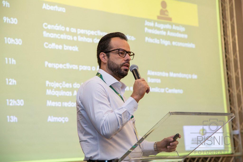 Na foto está o presidente da Assodeere, José Augusto Sousa Jr.